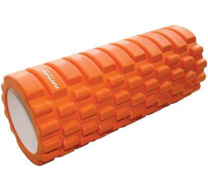 Yoga Foam Grid Roller 33 cm Orange - 1