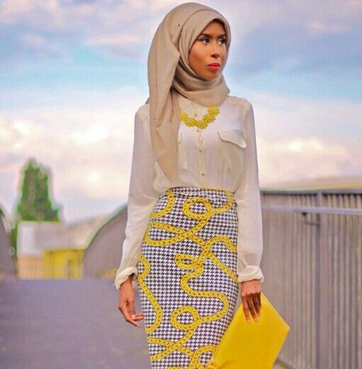 Basma K ♥ Muslimah fashion  hijab style