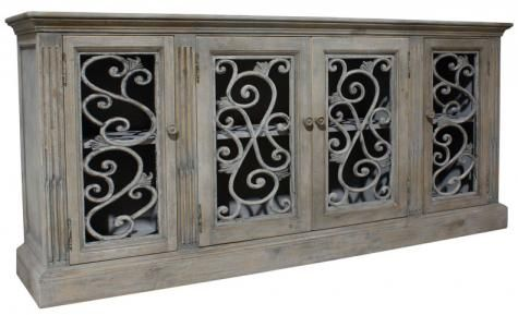 The Fabre sideboard, add a touch of French flair to your space.