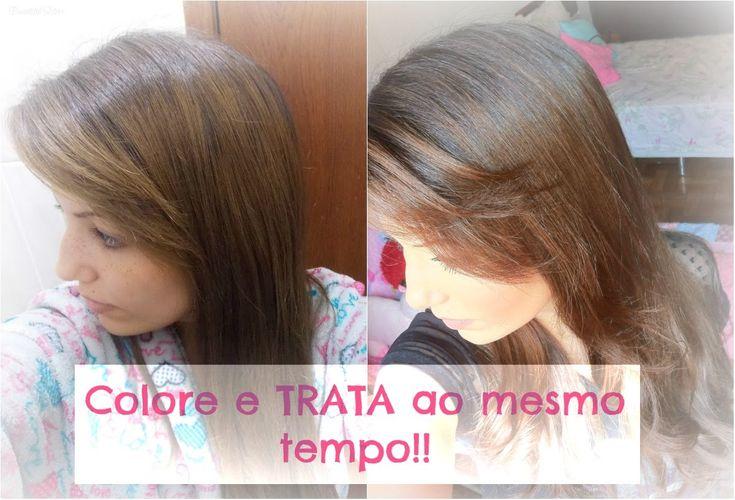 Como usar: Tonalizante Castanho Claro (Capuccino C. Kamura) Por Camila Lima