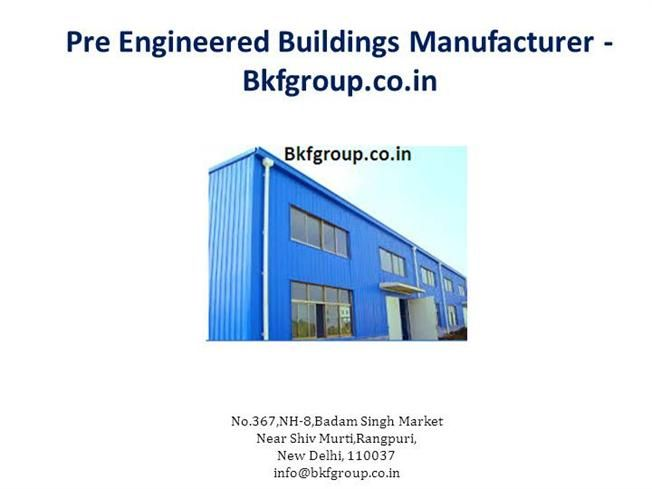 Find #Pre_Engineered_Buildings supplier in India that provides you Pre Engineered Buildings service at very reasonable price. See here presentation based on benefit of Pre Engineered Buildings.