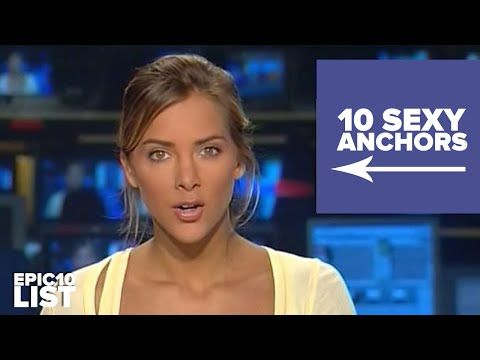 10 MOST GORGEOUS New Anchors / Sexy News Anchors