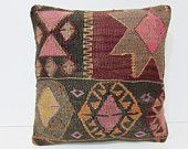 decorative kilim pillow outdoor decor knit pillow sham organic pillow case country decor design interior throw pillow kilim rug pillow 26368