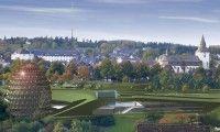 Oeuf rencontre univers ! L'Oversum Vital Resort  hôtel bien-être à formes extraordinaires. Winterberg, Allemagne.   http://www.spadreams.fr/pas-cher/allemagne/eifel-bergisches-land-sauerland/winterberg/oversum-vital-resort/