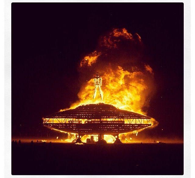 Burning Man 2013 hoop het ook eens mee te maken, maar een hele organisatie op zich.