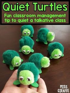 Quiet turtles classroom management strategy that kids LOVE! Lots of wonderful behavior management strategies to help with a noisy talkative class