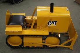 Caterpillar Dozer Pedal Car Rachael Edwards