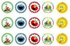 Freebies: FREE Sesame Street bottlecap images