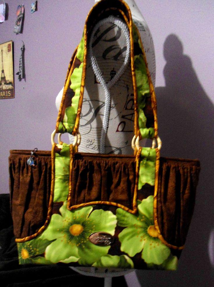 Custom made Savanah bag