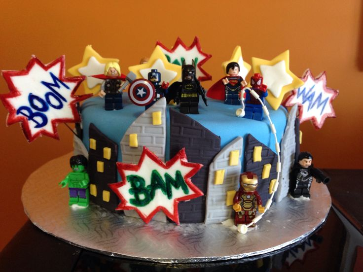 Birthday Cake Ideas Avengers Dmost for
