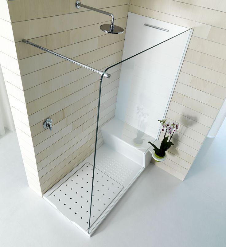 best 25 corian shower walls ideas on pinterest. Black Bedroom Furniture Sets. Home Design Ideas