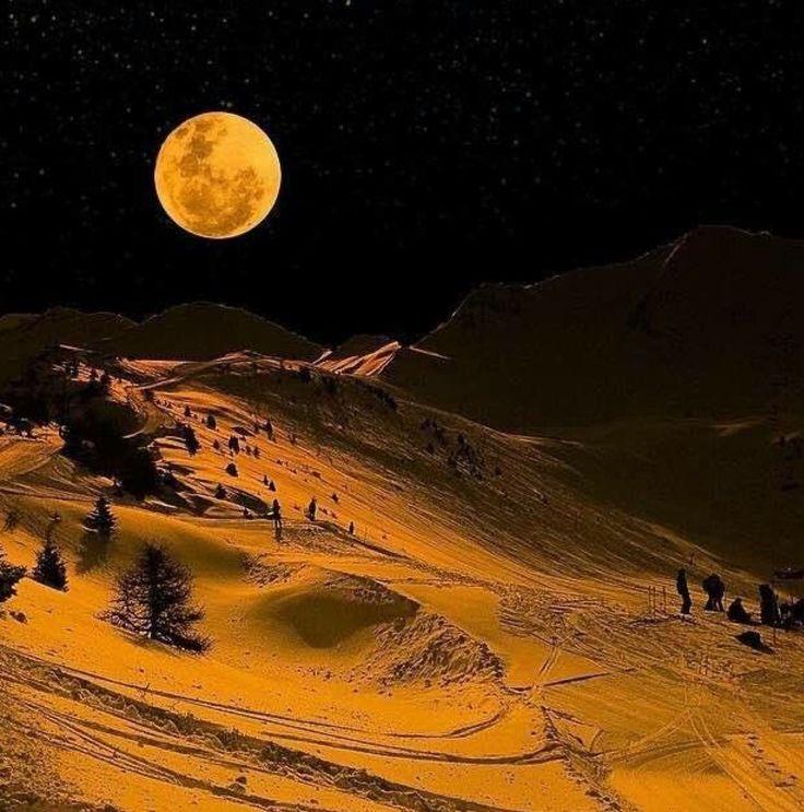 al orange moon slopes