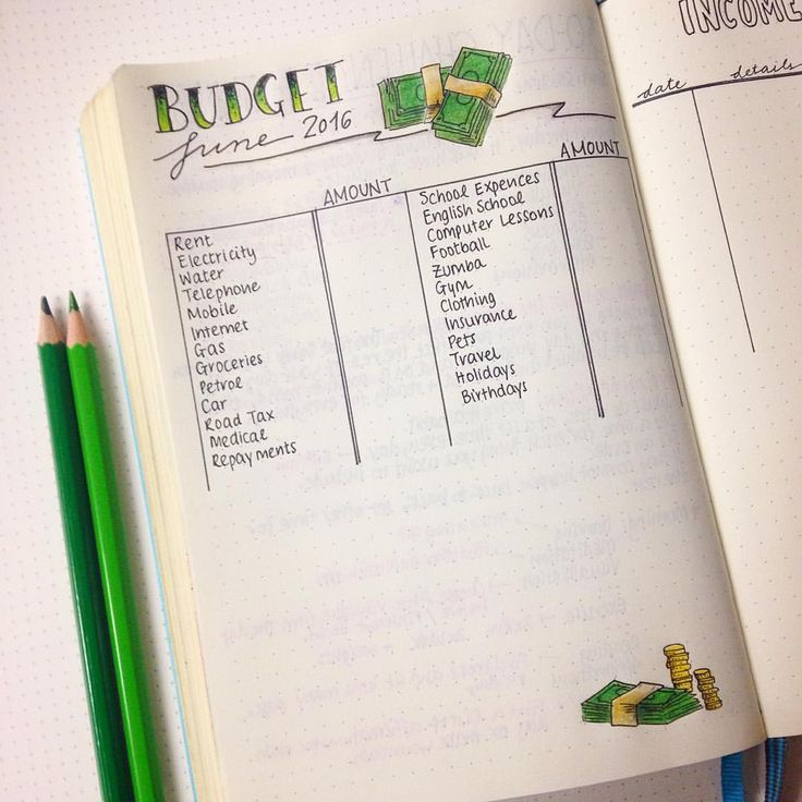 My Money Saving Journal