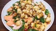 vegansk blomkålsalat oppskrift