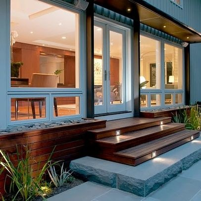contemporary home front steps design ideas pictures remodel and decor page 10 - Front Steps Design Ideas