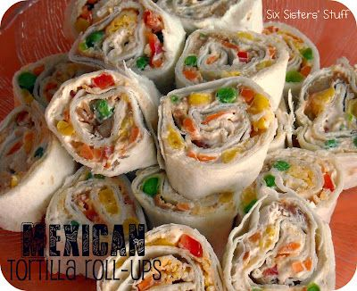 Easy Mexican Tortilla Roll ups