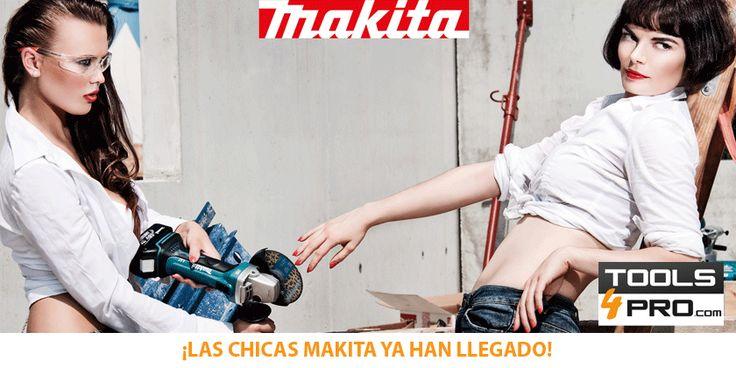 Las herramientas favoritas de las chicas Makita