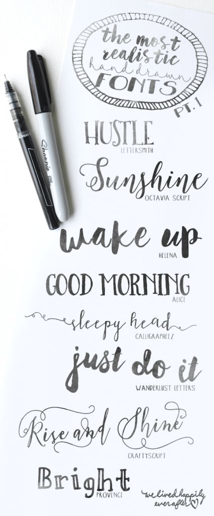 25 Unique How To Do Calligraphy Ideas On Pinterest