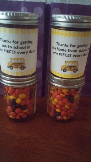 Bus Driver Gifts. Happy with how these turned out!