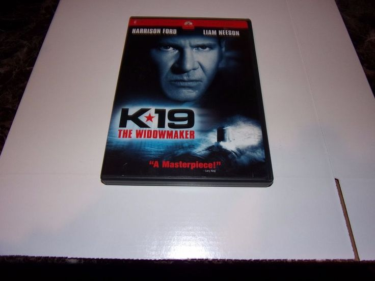 K-19: The Widowmaker (DVD, 2002) Harrison Ford, Liam Neeson #Paramount