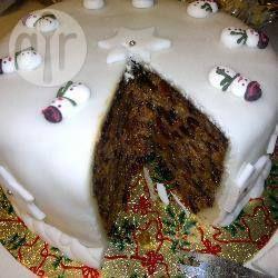 Recipe photo: Luxury Christmas cake