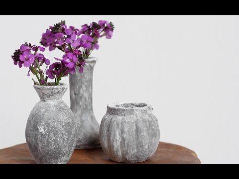 DIY decoratie met betonnen look ★ Muurvuller Action - YouTube