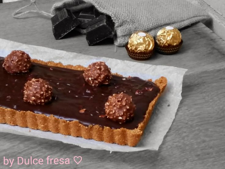 Dulce fresa: Tart à la Dulce fresa ^^Ferrero Rocher^^