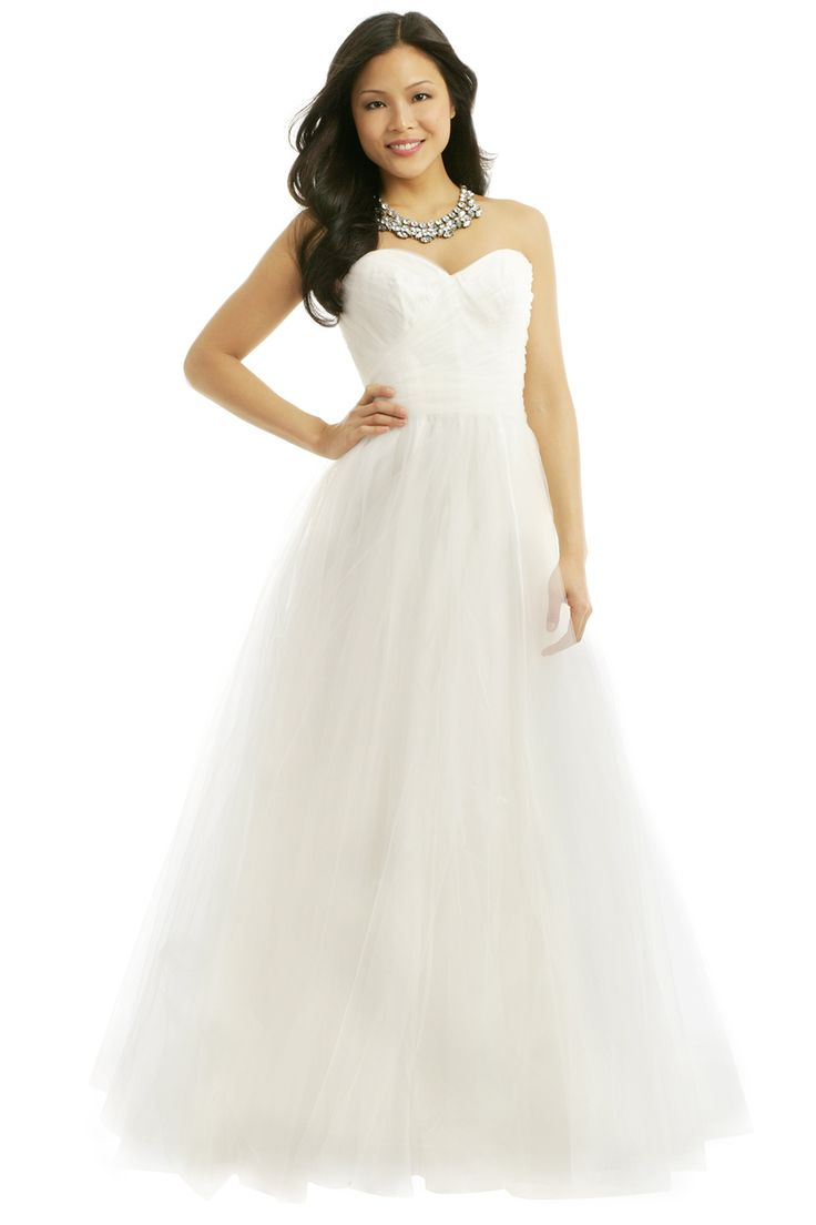 Great Say I Do Tulle Gown
