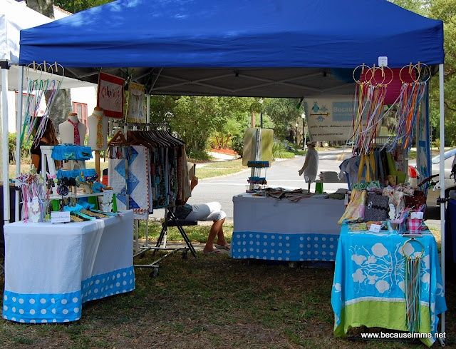 photos of outside booth festivals | Outdoor Festival - open on both sides