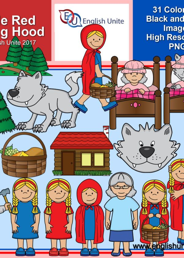 Little Red Riding Hood Clip Art Pack