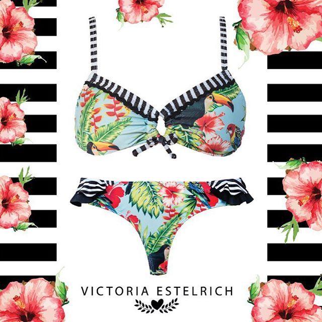 VICTORIA ESTELRICH  #bikinis #swimwear