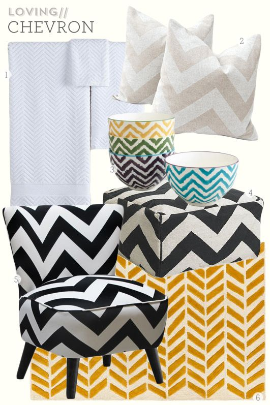 Chevron Home Decor | Sarah Hearts