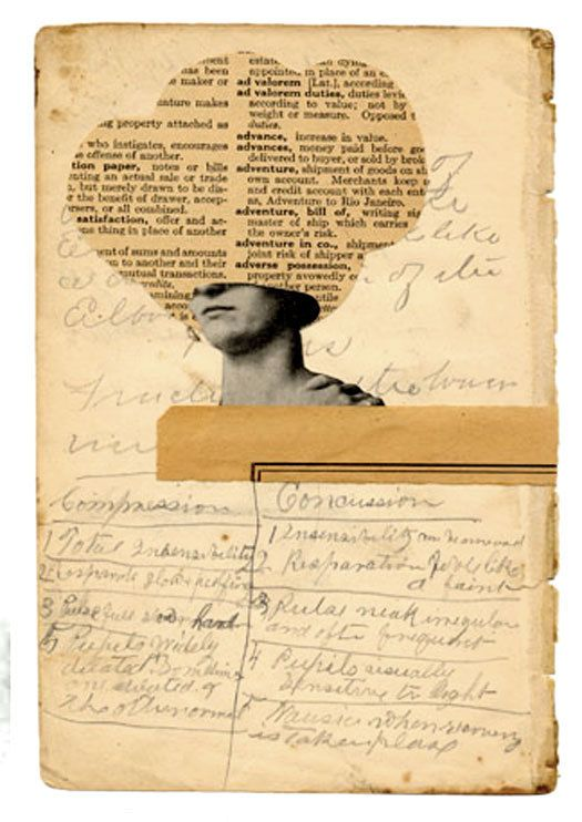 David Wallace, Concussion, 2010: Old Paper, Paper Collage Assemblage, American Collage, Collage Paper Books, New Life, Collage Artists, Art Collage, David Wallace Collage