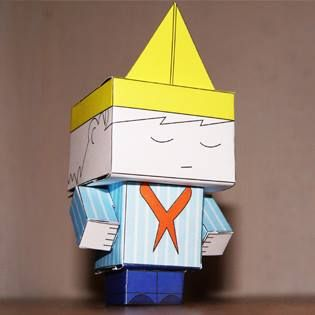 #Printable #paper Oliver. Print I'm and #build him, perfect for keeping the #kids busy. #DIY #crafts