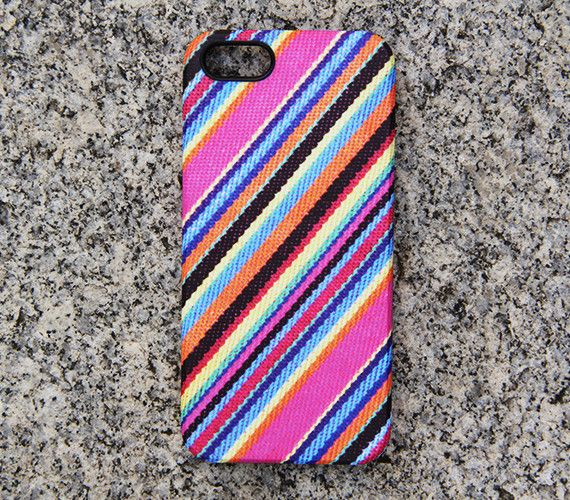 Colorful Fabric Stripes Panting Phone 6 iPhone 6 plus Case Pink iPhone 5 iPhone 5C iPhone 4 Case Blue Samsung Galaxy S6 edge S6 S5 Case 056