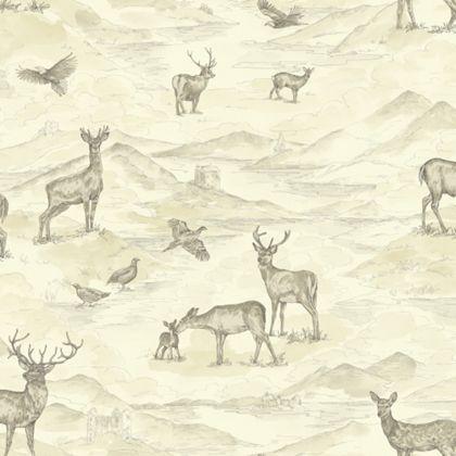 Bancroft Wallpaper - Cream