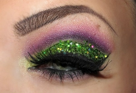 a gorgeous contest entry: Gorgeous Contest, Green Fairies, Style, Sparkly Green Purple, Makeup Beauty Things, Simply Gorgeous, Makeup 3, Contest Entry, Hairs Nails
