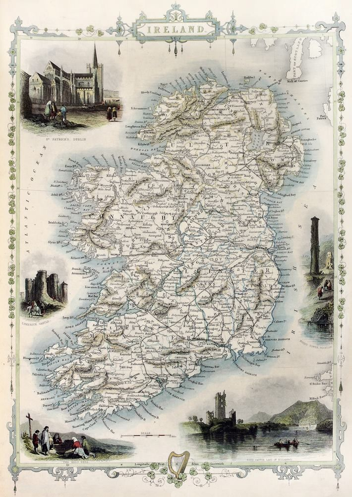 from Ireland Family History 85 best Maps