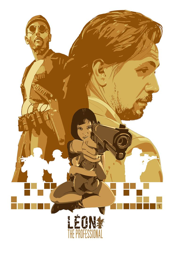 Leon The Professional by Stephen Sampson *