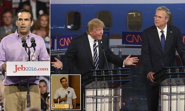 Jeb Bush's son breaks the family line and ENDORSES Donald Trump #Daily Mail.. Good for him Especially after his father said he would support the GOP Candidate......