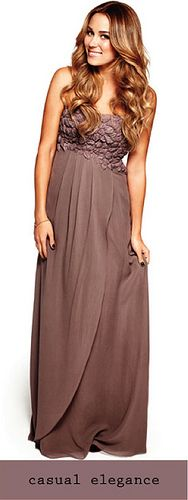 Casual Elegance / Lauren Conrad - long dress