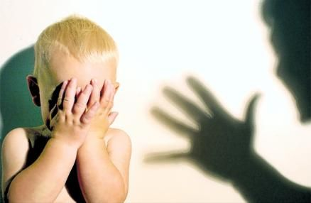 Child Abuse Background for Powerpoint children presentation