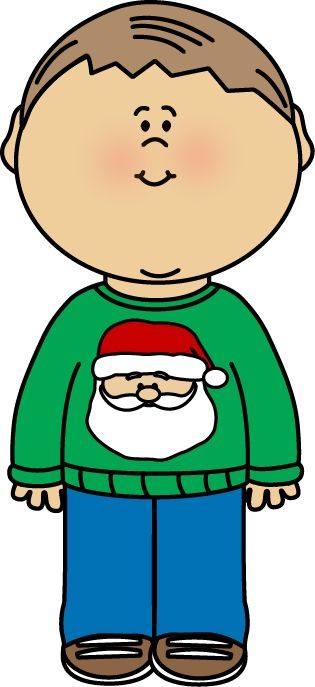 Free Christmas Sweater clip art from mycutegraphics.com