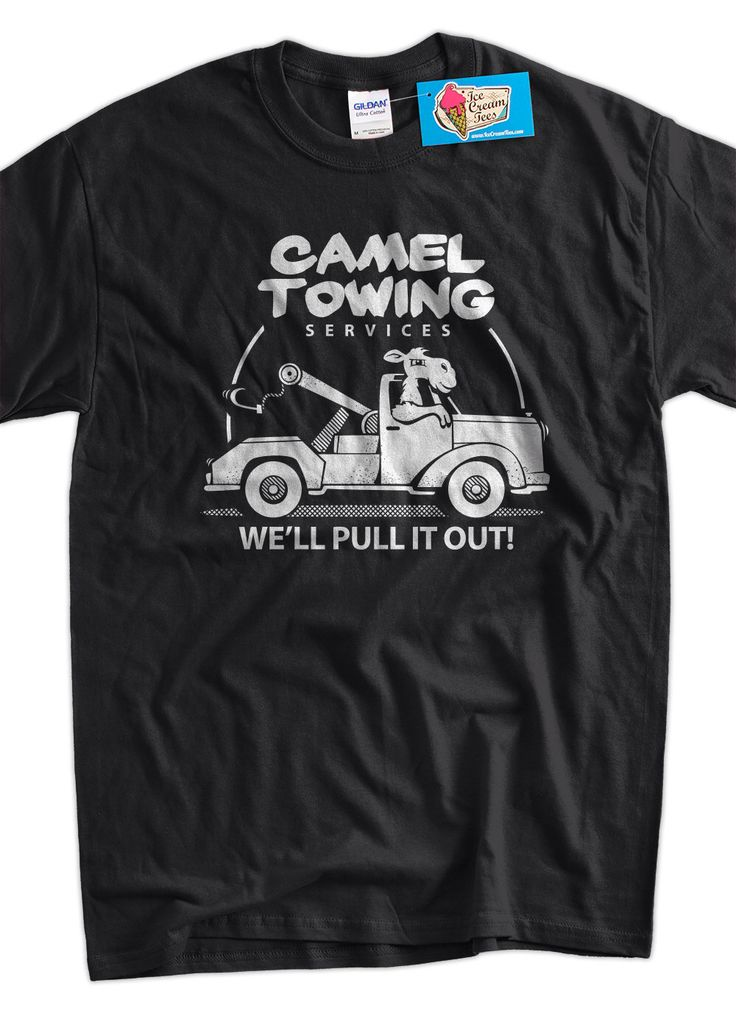 Funny Camel T-Shirt Gifts For Guys Camel Towing T-Shirt Gifts for Dad Screen Printed T-Shirt Tee Shirt T Shirt Mens Ladies Womens by IceCreamTees on Etsy https://www.etsy.com/listing/152146735/funny-camel-t-shirt-gifts-for-guys-camel