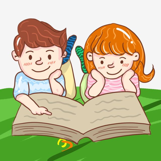Reading Books Together Boy Girl Cartoon Illustration Reading Book Cartoon Illustration Reading Cartoon Illustration Book Clipart I Love Reading Book Png Tran Cartoon Illustration Reading Cartoon Girl Cartoon
