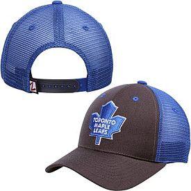 Toronto Maple Leafs Zephyr Charcoal Trucker Flex Hat - Shop.Canada.NHL.com