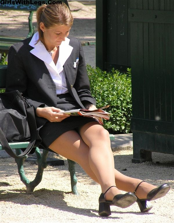 candid office pantyhose