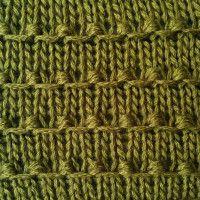tiny bobbles stitch
