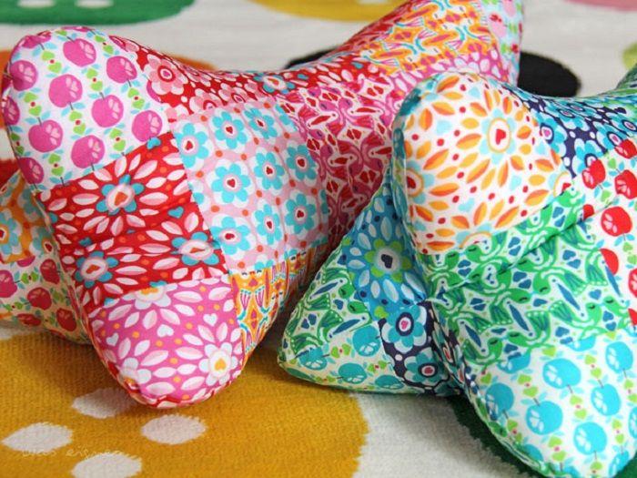 DIY Anleitung: Kissen selber nähen // diy: how to sew a pillow via DaWanda.com