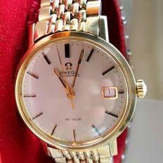 OMEGA de Ville automatico in oro 9 kt - orologio da polso da uomo del 1972
